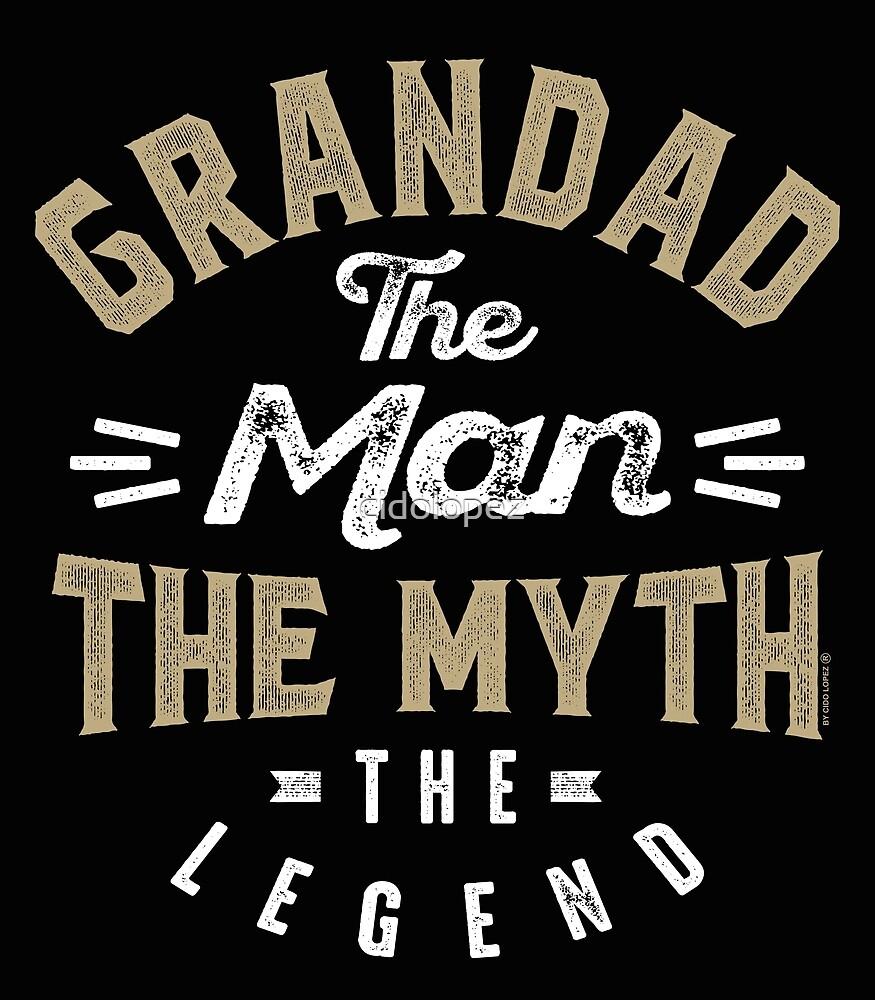 Grandad The Myth by cidolopez
