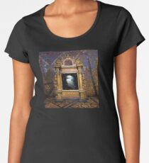 Of Stardust and Transcendence Premium Scoop T-Shirt