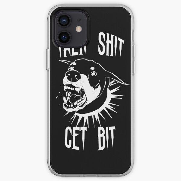 Talk Shit Get Bit Doberman  iPhone Soft Case