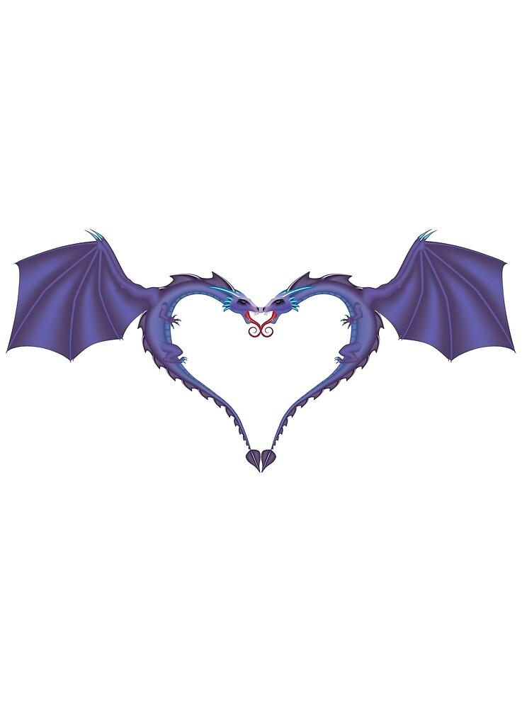 Dragon Heart by badbluedragon