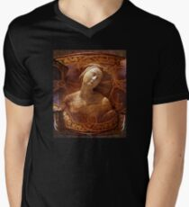 Maiden of the Shield V-Neck T-Shirt