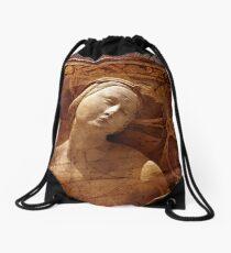 Maiden of the Shield Drawstring Bag