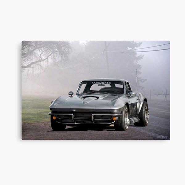 1963 Corvette C2 Split-Window Stingray II Canvas Print