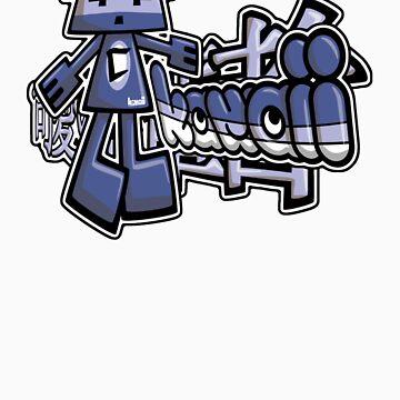 Cubist Mascot Tag by KawaiiPunk