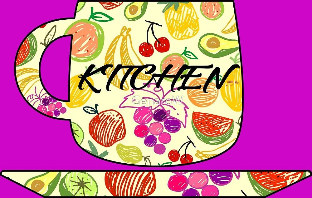 Kitchen by GenaroW