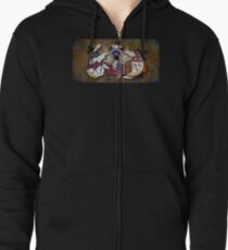 Journey through the Continuum Zipped Hoodie