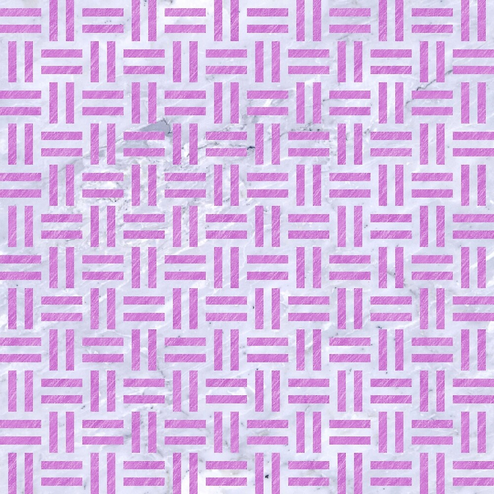 WOVEN1 WHITE MARBLE & PURPLE COLORED PENCIL (R) by johnhunternance