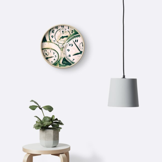 Vintage Clock Timepieces  by l-g-smith