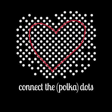 Connect The Polka Dots- Heart by TeodoraWorkshop
