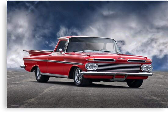 1959 Chevrolet El Camino I by DaveKoontz