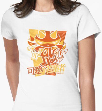 Demon Mascot Stencil T-Shirt
