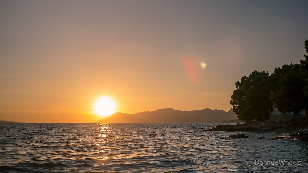 Sunset Makarska by Danny2Wheels