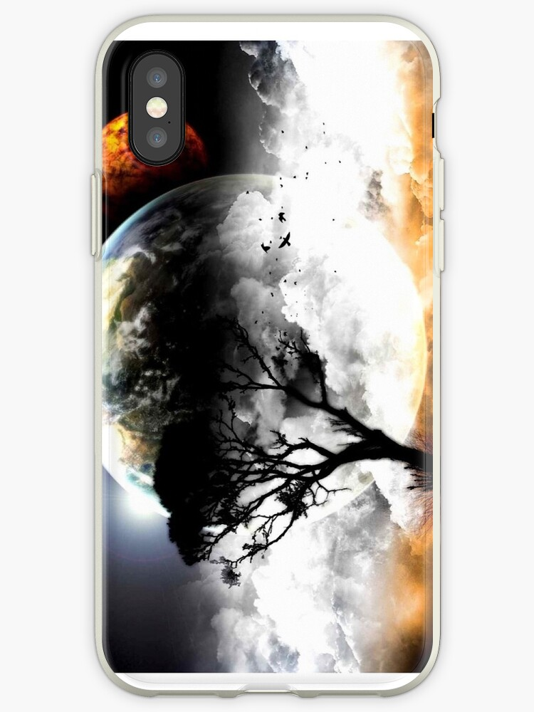 Art space earth moon case by Dia1