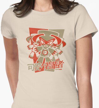 Fierce Mascot Stencil T-Shirt