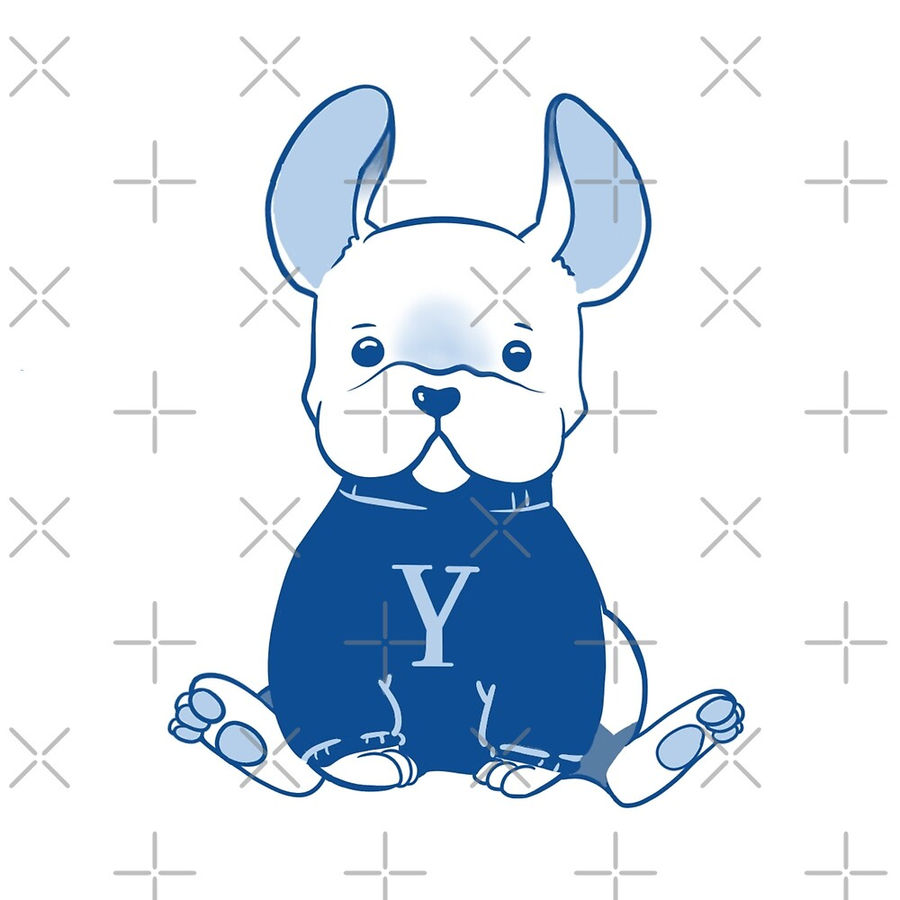 Yale Bulldog by Michelle  Fu