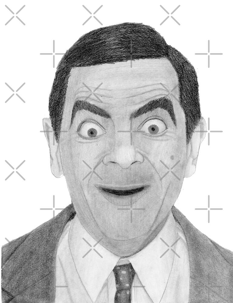 Mr. Bean by watsonillustrations