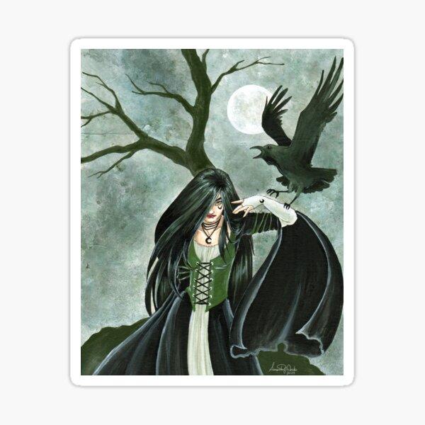 Raven Witch Sticker