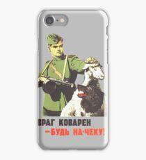 WW2 Soviet Poster iPhone Case/Skin