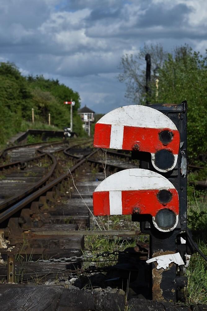 Railway Signal by LittleMessyJess
