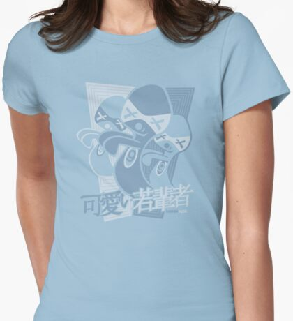 Ghost Mascot Stencil T-Shirt