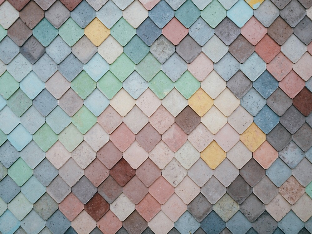 Colorful Tiles by ColorsOfAutumn