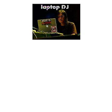 laptop DJ Merzbow by holyfufk