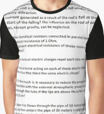 Document, Physical Universe PHYS 1000 Course, Exam 2 Graphic T-Shirt