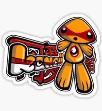 Junior Mascot Tag Sticker