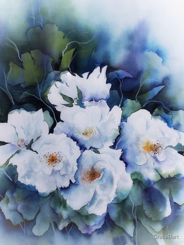 Angelic Watercolor Flower by GraceBart