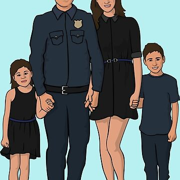 Strong Family - Law Enforcement by AquaMarine21