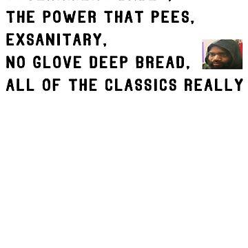 exsanitary, no glove deep bread by holyfufk