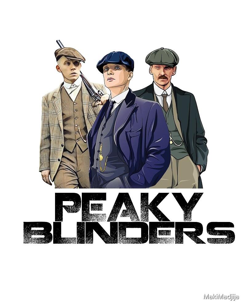 Peaky blinders by MakiMadjija