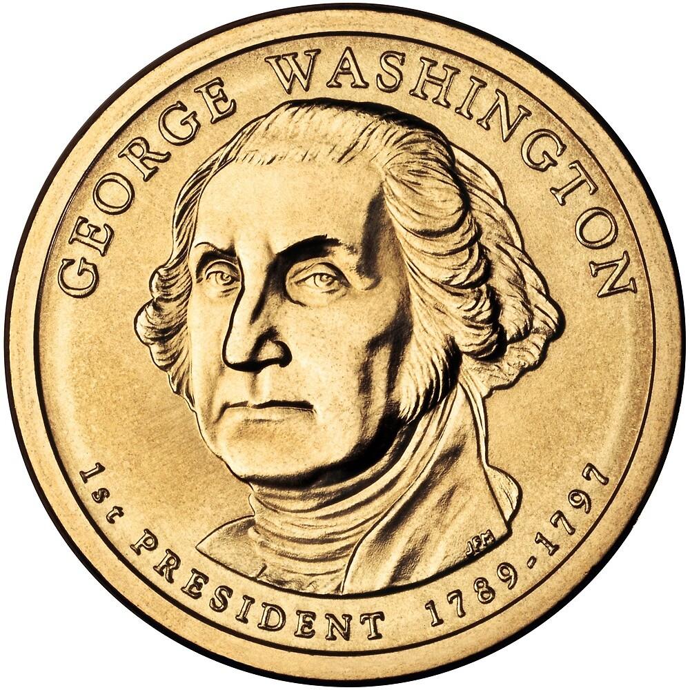 Washington Presidential $1 Coin by romeobravado
