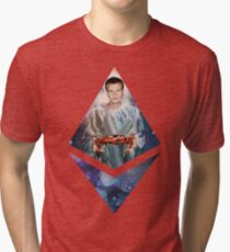 Heavenly Vitalik Ethereum Icon Tri-blend T-Shirt