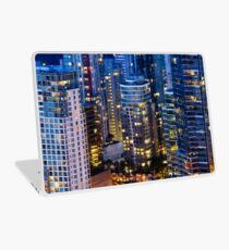 Downtown Robson Vancouver Laptop Skin
