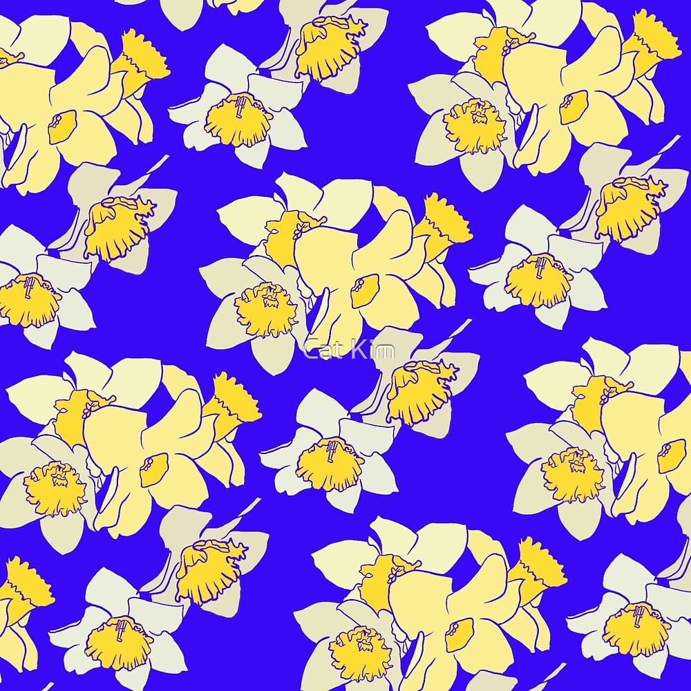 Daffodils by Cat Kim