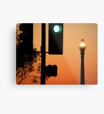 Traffic Light Metal Print