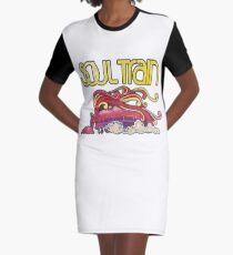 Soul Train TV Show Graphic T-Shirt Dress