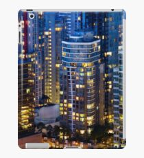 Downtown Robson Vancouver iPad Case/Skin