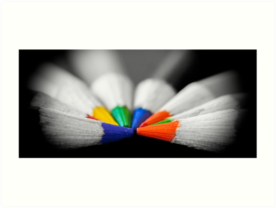 The Colour Wheel by Garvin Hunter Photography