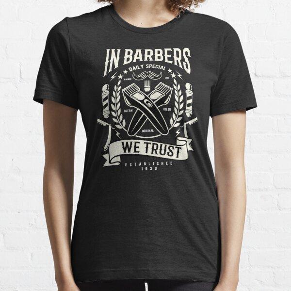 barberos Camiseta esencial