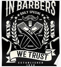Barbers Poster