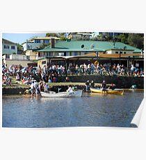Boat Race at Harrington Pub Poster
