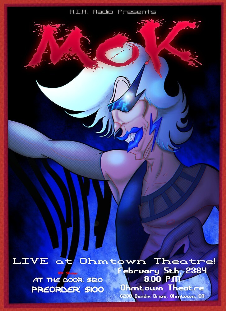 Mok Concert Poster by nytrodioxide