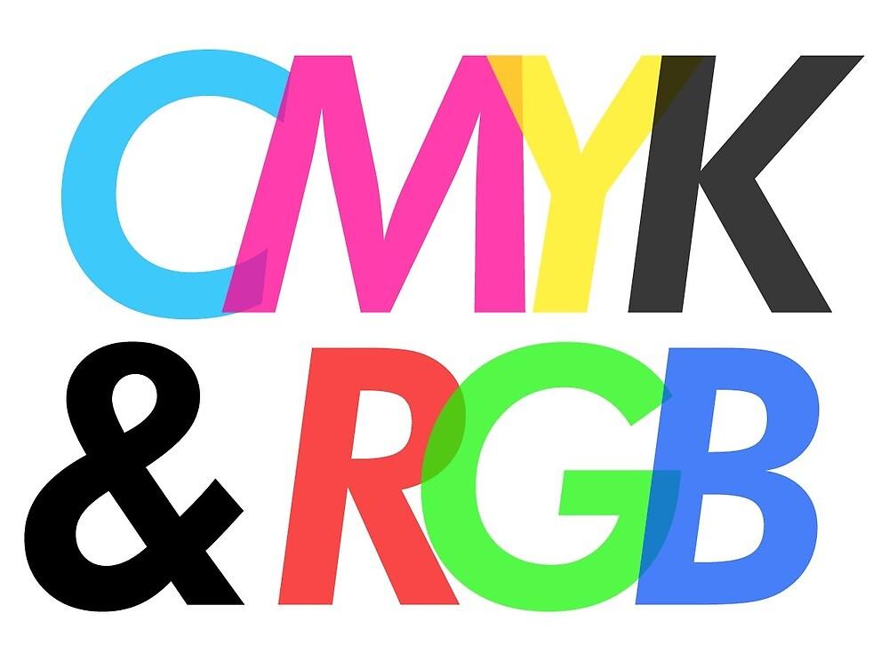 CMYK & RGB by sirajcho