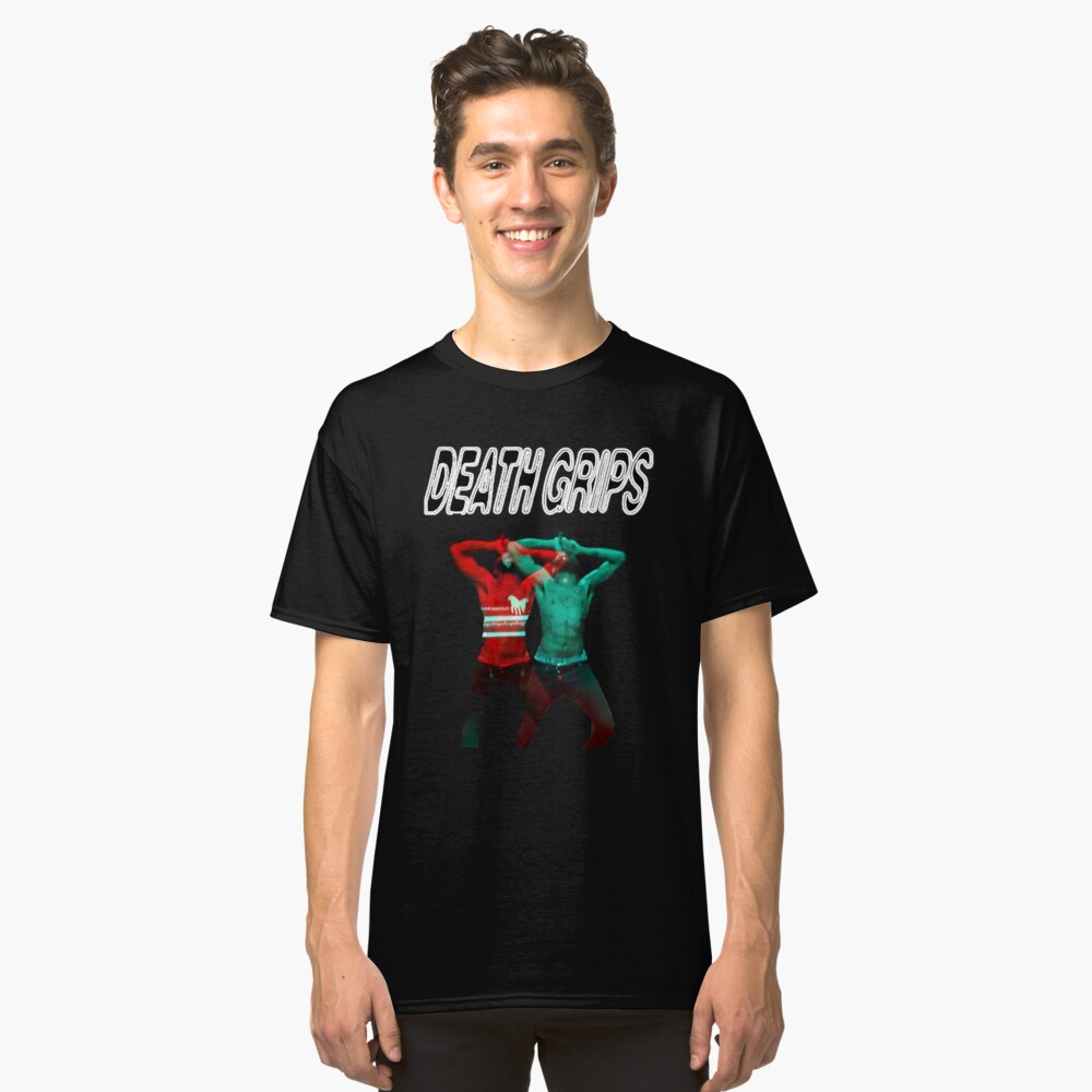 Death Grips 3D Ride Classic T-Shirt Front