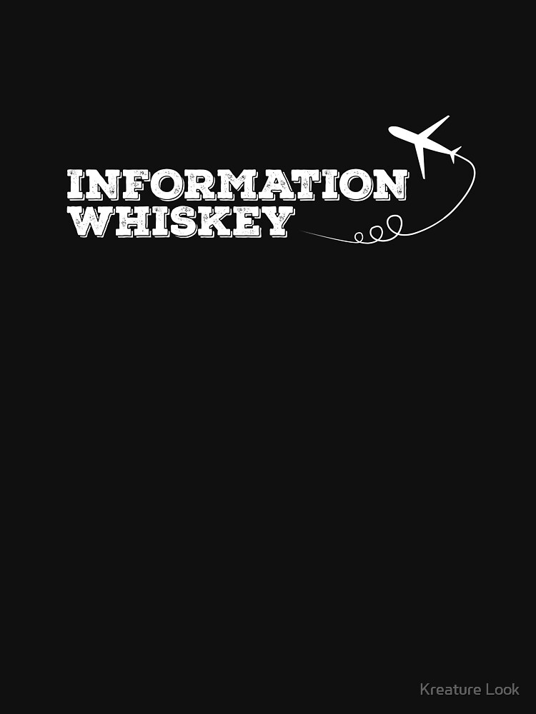 Information Whiskey | Whiskey Gifts | Whiskey Shirt | Scotch Drinker | Funny Cigar Gift | Cigar Gift For Men | Cigar Gift for Dad | Cigar Shirt | Fathers Day Gift | Whiskey Lovers Gift by qtstore12