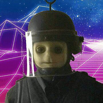 A e s t h e t i c SWAT Teletubby  by ConnorStid