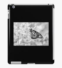Monarch in monochrome iPad Case/Skin