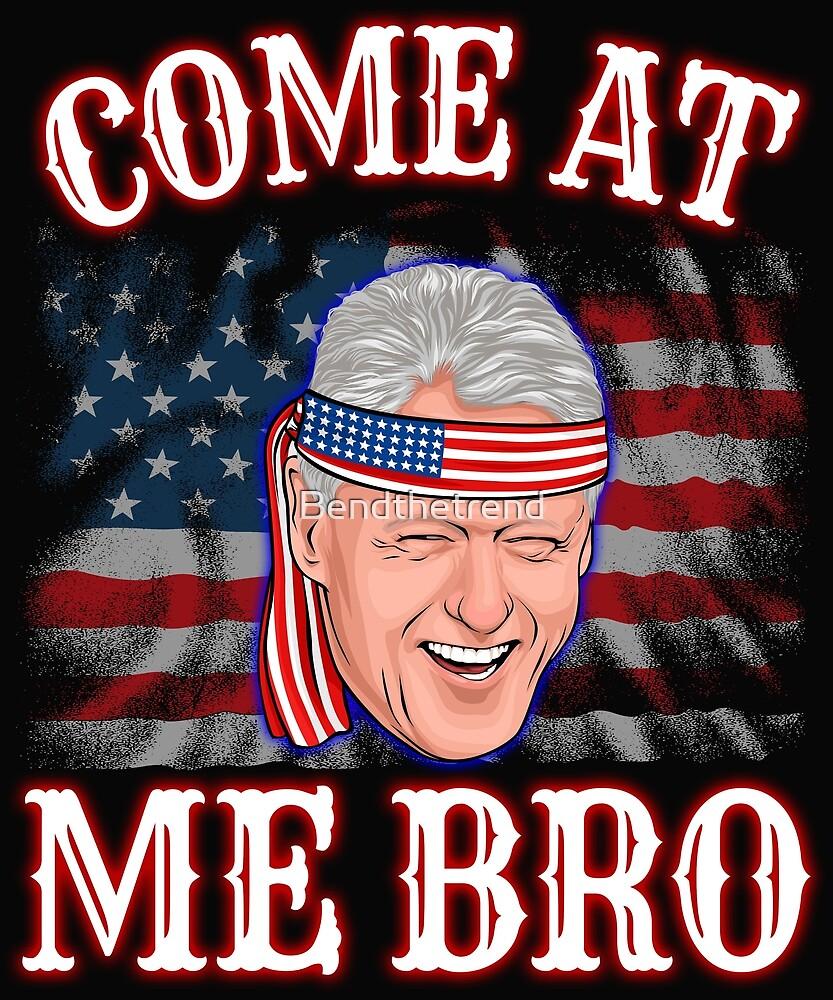 Bill Clinton 4th Of July by Bendthetrend